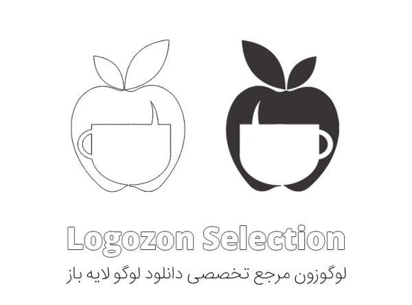 لوگو سیب و فنجان